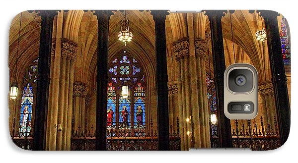 Galaxy Case featuring the photograph Cathedral Arches by Jessica Jenney