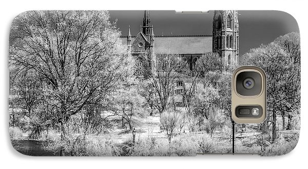Galaxy Case featuring the photograph Cathedral Basilica Of The Sacred Heart Ir by Susan Candelario