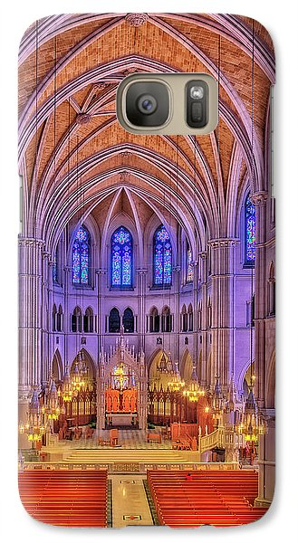 Galaxy Case featuring the photograph Cathedral Basilica Of The Sacred Heart Newark Nj II by Susan Candelario