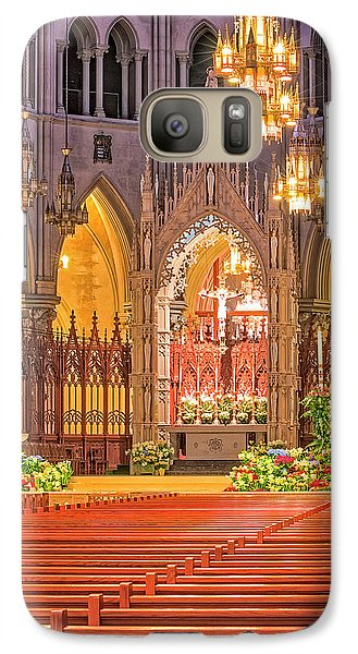 Galaxy Case featuring the photograph Cathedral Basilica Of The Sacred Heart Newark Nj by Susan Candelario