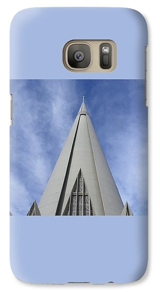 Cathedral Minor Basilica Our Lady Of Glory Galaxy Case by Bruna Lima