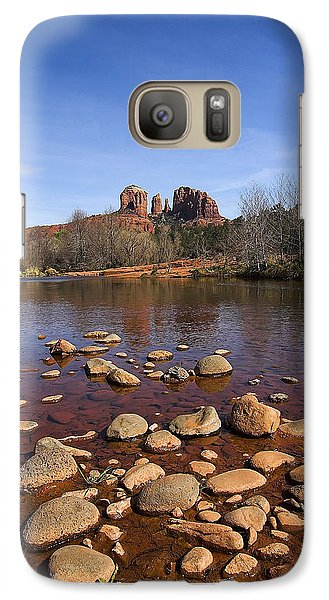 Galaxy Case featuring the photograph Cathedral Rock by Dan Wells
