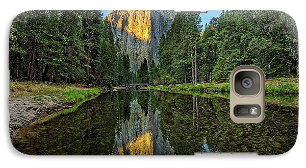 Cathedral Rocks Morning Galaxy Case by Peter Tellone