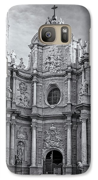 Galaxy Case featuring the photograph Cathedral Valencia Spain by Joan Carroll