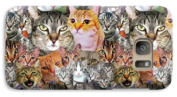 Cats Galaxy S7 Case by Gloria Sanchez