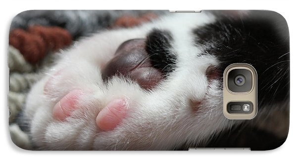 Galaxy Case featuring the photograph Cats Paw by Kim Henderson