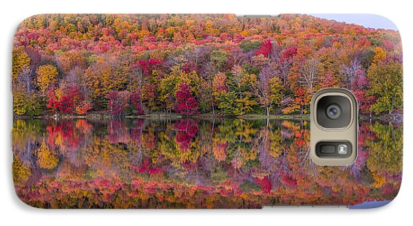 Galaxy Case featuring the photograph Catskill Panorama 2 by Mark Papke