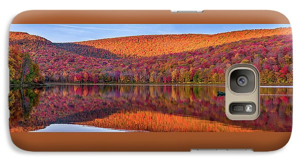 Galaxy Case featuring the photograph Catskills Panorama 1 by Mark Papke