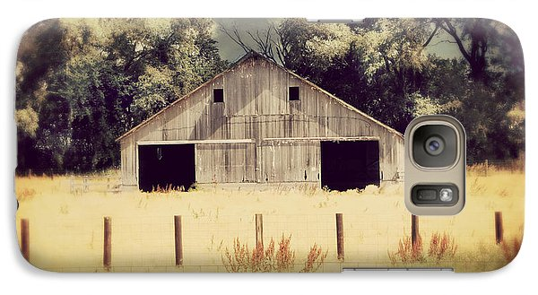 Galaxy Case featuring the photograph Hwy 3 Barn by Julie Hamilton
