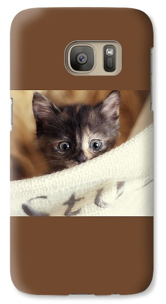 Galaxy Case featuring the photograph In The Hamper by Amy Tyler