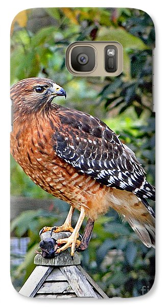 Galaxy Case featuring the photograph Caught In The Talons by Sue Melvin