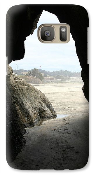 Galaxy Case featuring the photograph Cave Dweller by Holly Ethan