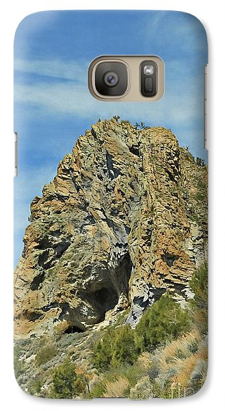 Galaxy Case featuring the photograph Cave Rock At Tahoe by Benanne Stiens