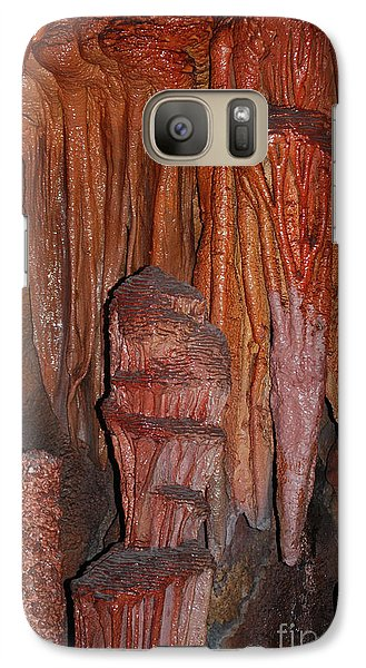 Galaxy Case featuring the photograph Caves In Arizona by Donna Greene