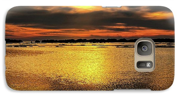 Galaxy Case featuring the photograph Ceader Key Florida  by Louis Ferreira