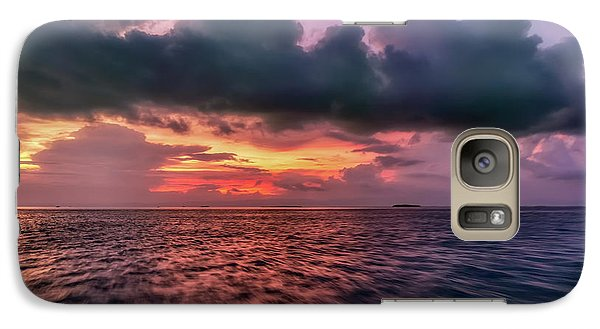 Galaxy Case featuring the photograph Cebu Straits Sunset by Adrian Evans