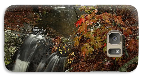 Galaxy Case featuring the photograph Cecil Cove Runoff by Michael Dougherty