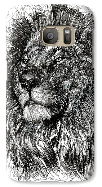 Cecil The Lion Galaxy S7 Case by Michael Volpicelli