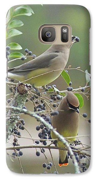 Cedar Wax Wings Galaxy S7 Case
