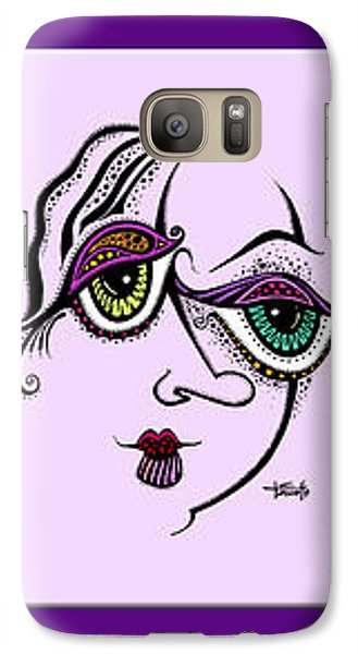 Galaxy Case featuring the drawing Celebrate Diversity by Tanielle Childers