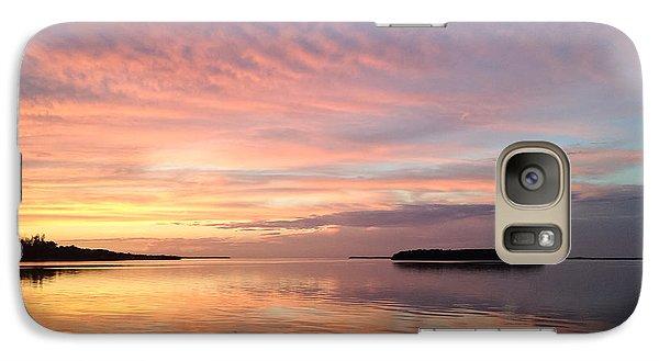 Celebrating Sunset In Key Largo Galaxy S7 Case