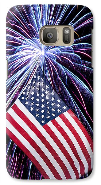 Galaxy Case featuring the photograph Celebration Of Freedom by Terri Harper