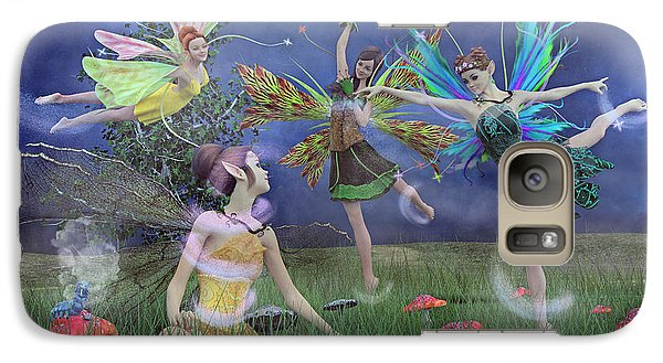 Celebration Of Night Alice And Oz Galaxy S7 Case