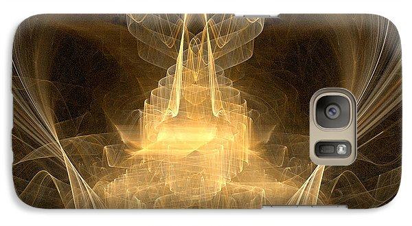 Galaxy Case featuring the digital art Celestial by R Thomas Brass