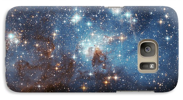Galaxy Case featuring the photograph Celestial Season's Greetings From Hubble by Nasa