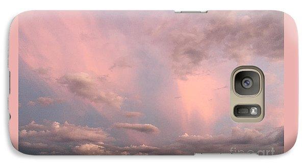Galaxy Case featuring the photograph Celestial Sky by Paula Guttilla