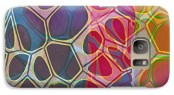 Galaxy S7 Case - Cell Abstract 11 by Edward Fielding