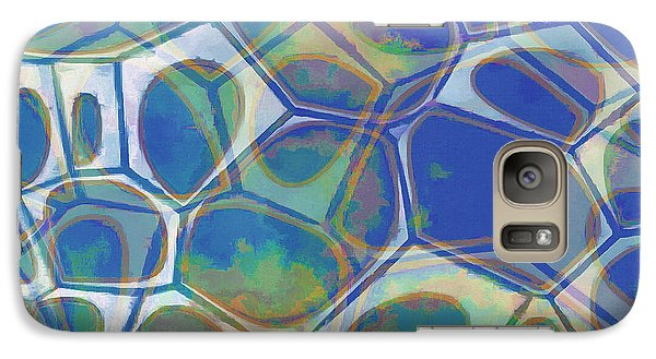 Galaxy S7 Case - Cell Abstract 13 by Edward Fielding