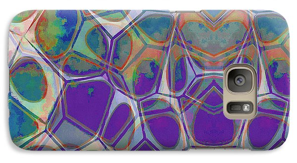 Galaxy S7 Case - Cell Abstract 17 by Edward Fielding