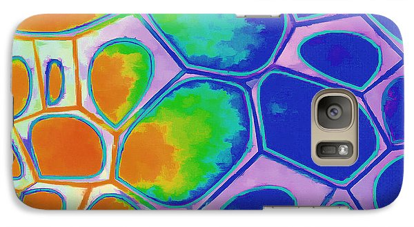 Galaxy S7 Case - Cell Abstract 2 by Edward Fielding