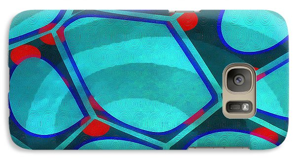 Galaxy S7 Case - Cell Abstract 6a by Edward Fielding