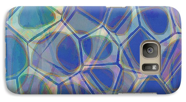 Galaxy S7 Case - Cell Abstract One by Edward Fielding