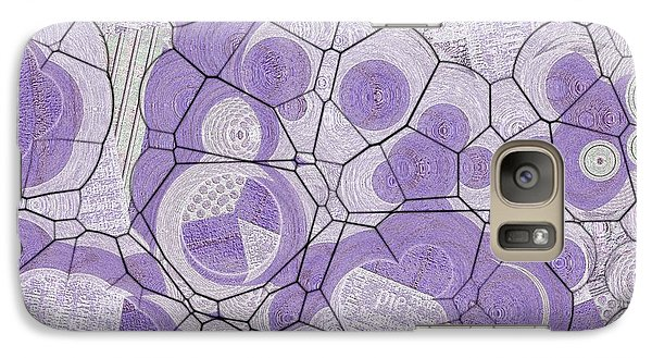 Galaxy Case featuring the digital art Cellules - 03c2 by Variance Collections