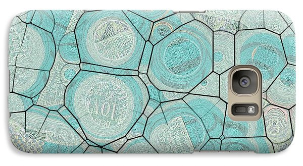 Galaxy Case featuring the digital art Cellules - 04c1 by Variance Collections
