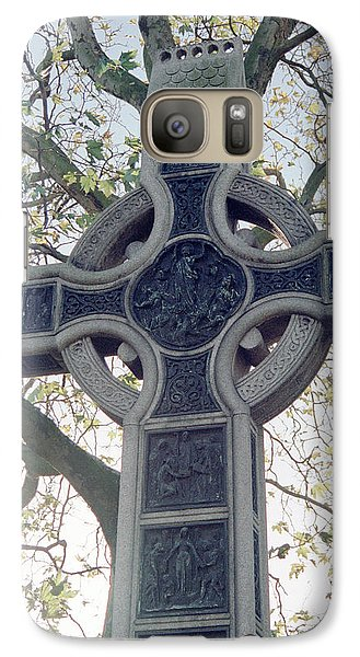 Celtic Cross Galaxy S7 Case
