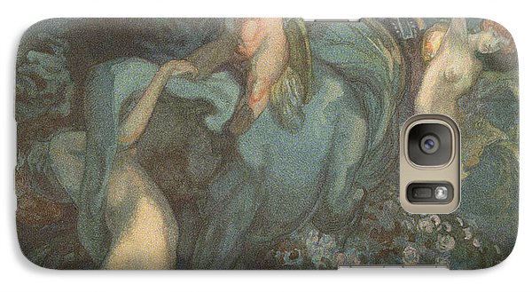 Centaur Nymphs And Cupid Galaxy S7 Case