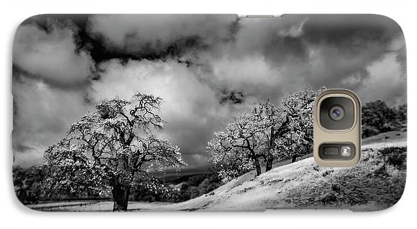 Galaxy Case featuring the photograph Central California Ranch by Sean Foster