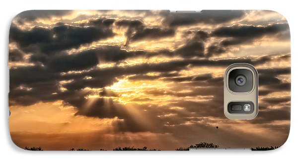 Galaxy Case featuring the photograph Central Florida Sunrise by Christopher Holmes