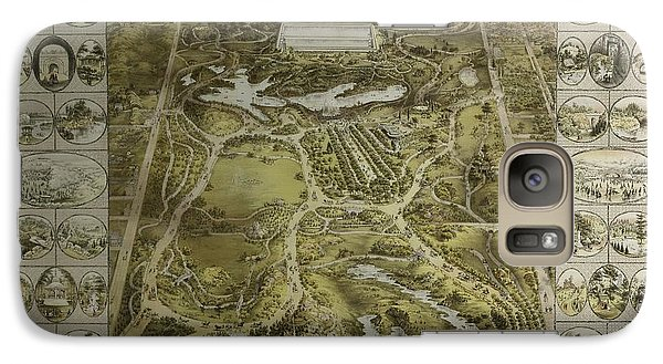 Galaxy Case featuring the photograph Central Park 1863 by Duncan Pearson