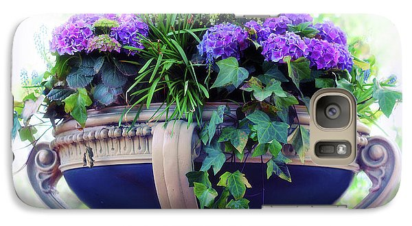 Galaxy Case featuring the photograph Central Park Planter by Jessica Jenney