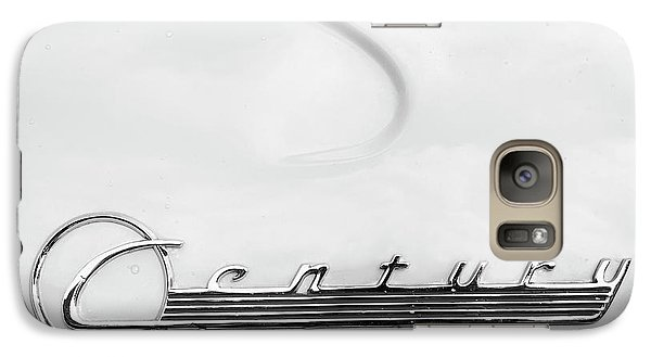 Galaxy Case featuring the photograph Century Monotone by Dennis Hedberg
