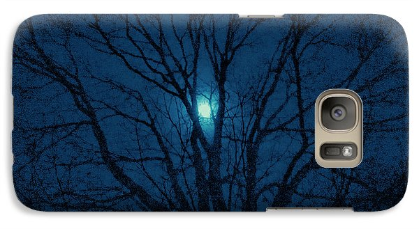 Galaxy Case featuring the photograph Cerulean Night by Denise Beverly