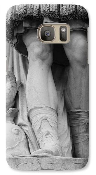 Galaxy Case featuring the photograph Paris Cesar Statue by Heidi Hermes