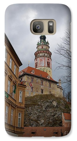 Galaxy Case featuring the photograph Cesky Krumlov II by Louise Fahy