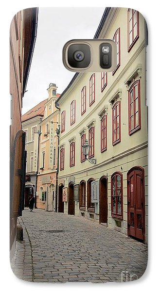 Galaxy Case featuring the photograph Cesky Krumlov IIi by Louise Fahy