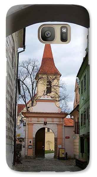 Galaxy Case featuring the photograph Cesky Krumlov by Louise Fahy